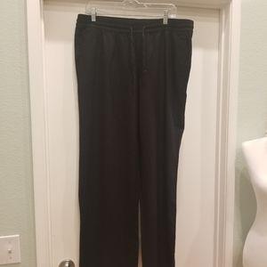 Old Navy Black Linen Pants